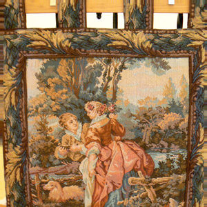 "Wall Hanging Tapestry Romantic Scene 24"" X 28"""